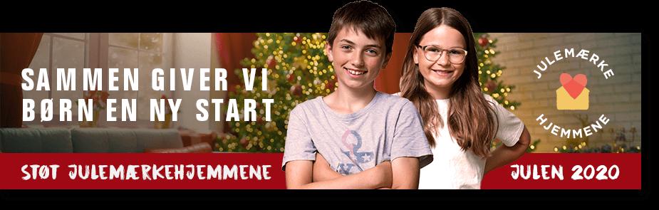 Julebanner til mail og website - vis din støtte