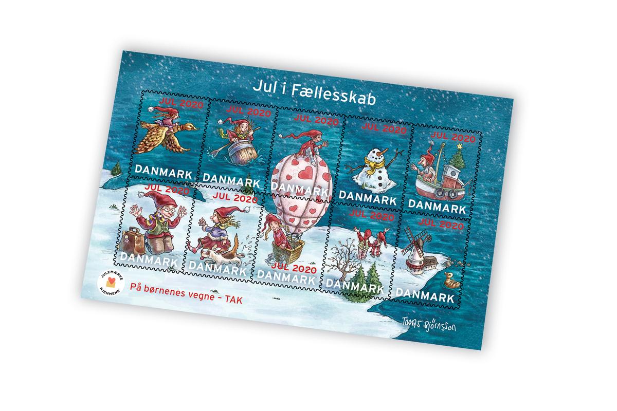 Miniark med Julemærket 2020