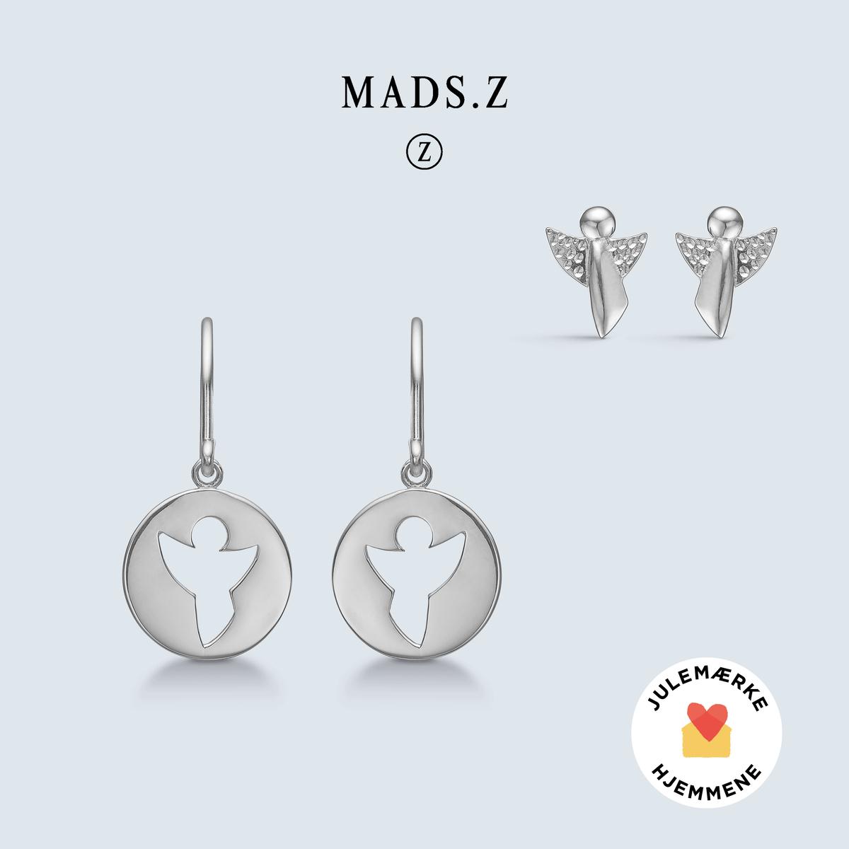 Me & My Angel - øreringe sølv
