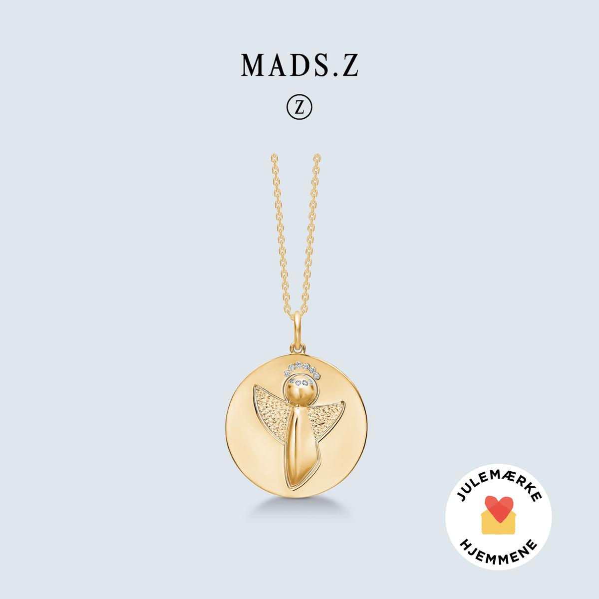 Eksklusivt Me & My Angel smykke i guld med brillanter