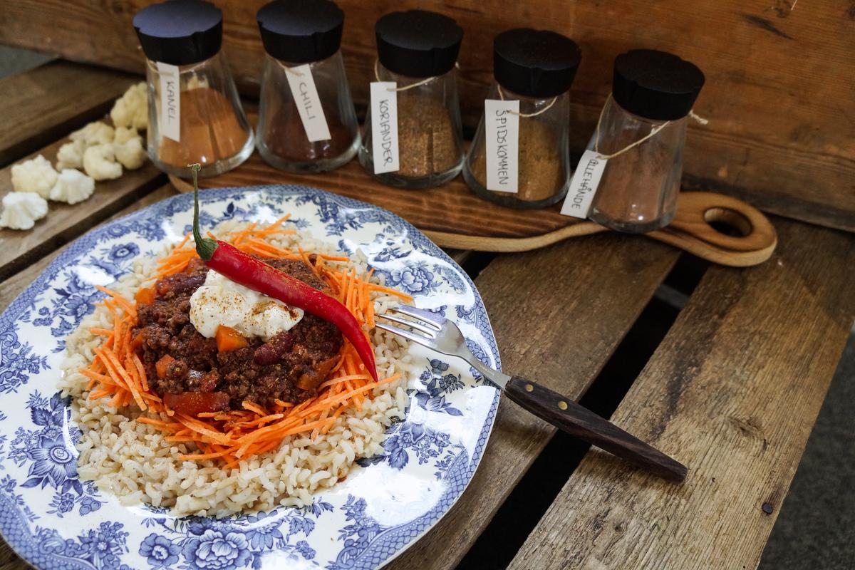 Chili con carne - forstanderens livret