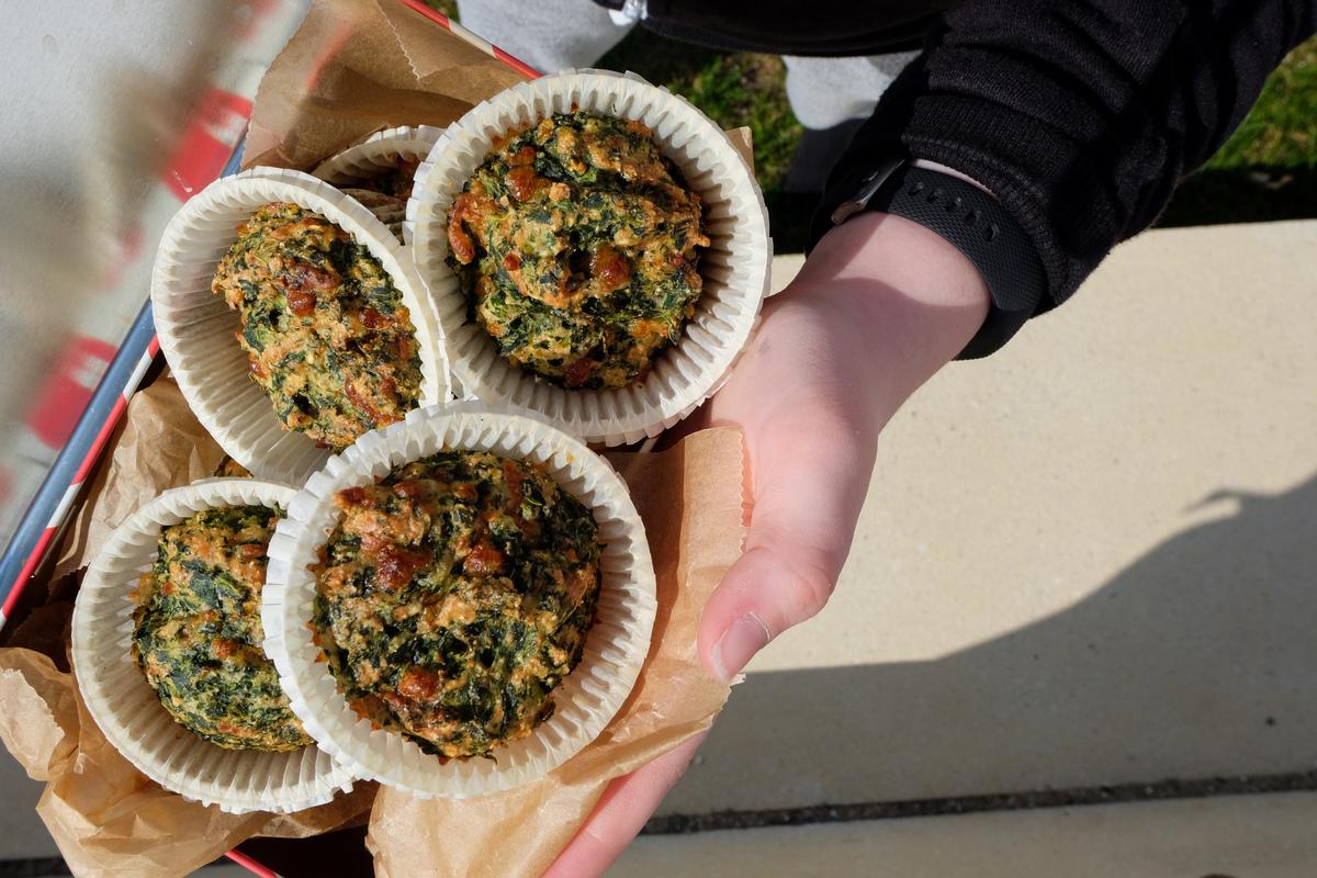 ideer til madpakken - muffins
