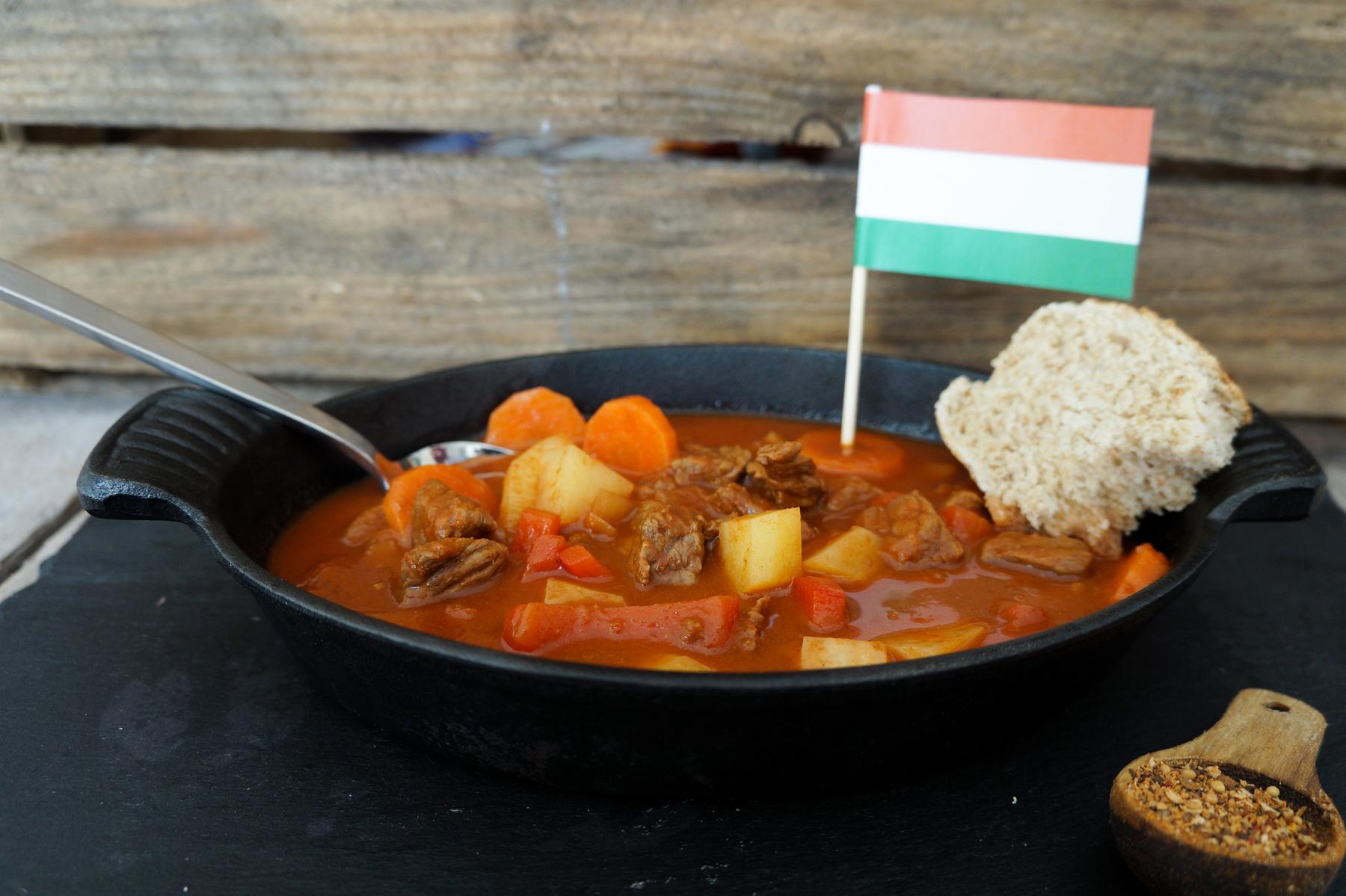 Ungarnsk gullasch suppe