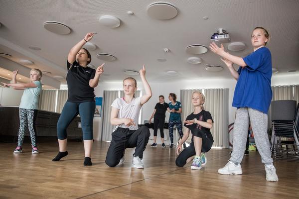 Daglig motion, leg og bevægelse for børn