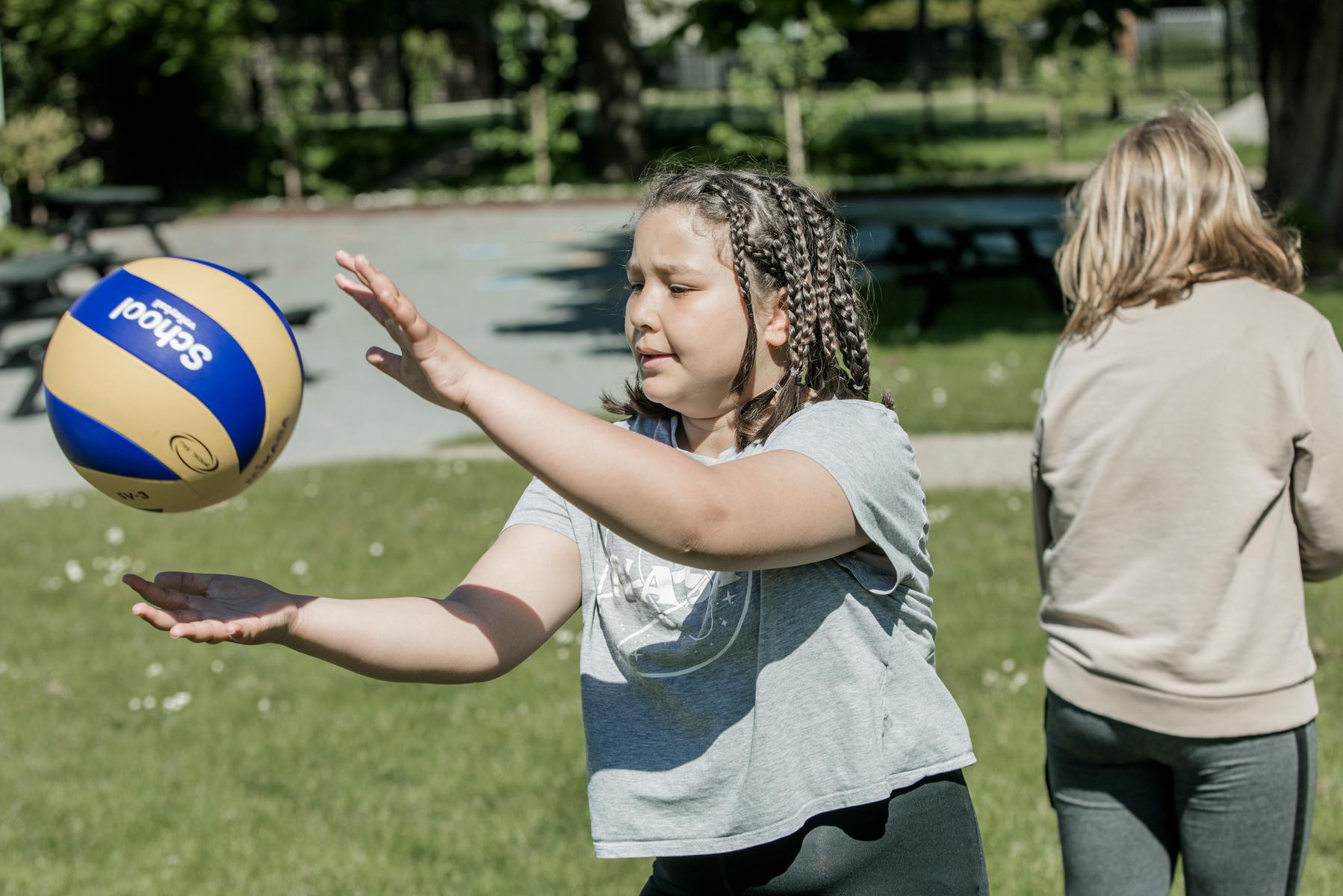 Motion, leg og bevægelse er del af et ophold på et Julemærkehjem